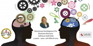 Astute Recruitment hosting second event on Emotional Intelligence for business success