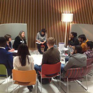 Deborah Labatte Giving Tips To IoD Student Members